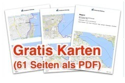 Bodensee-Radweg - alle 8 Etappen, Hotels, gratis Karten