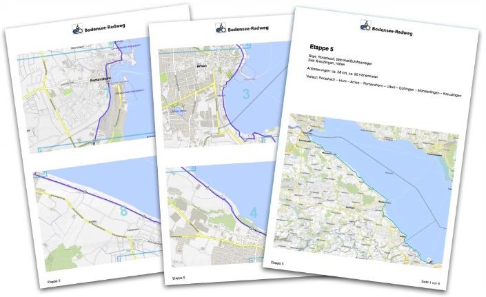 Gratis Karten Erhalten Bodensee Radweg De